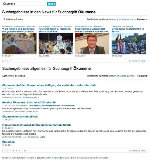 Suche nach News und Wissen